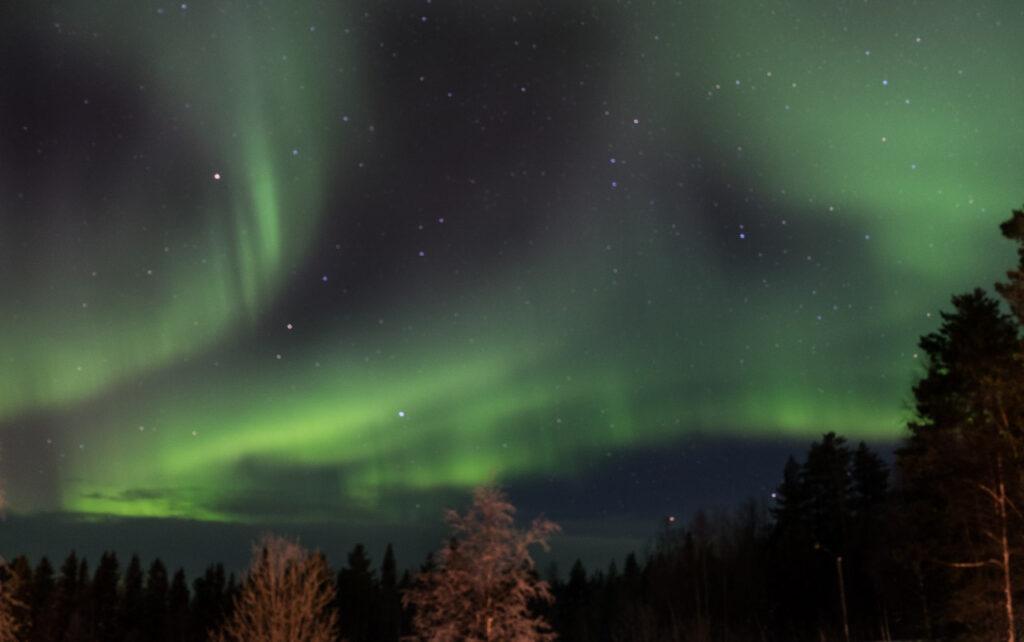 Nordlicht fasziniert