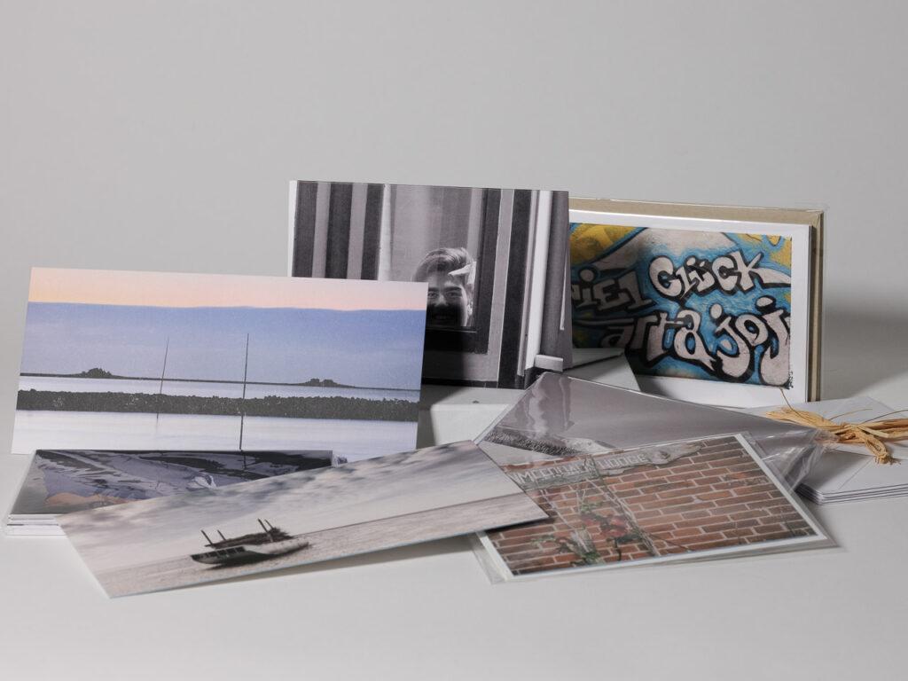 Briefkarten als Nutzung  von Fotos - im Päckchen auch zum Verschenken, was mit digitalen Produkten schwierig wäre