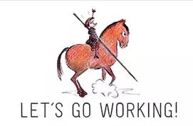die Kunst mit einem Pferd als Partner zu arbeiten bildet die Working Equitation ab