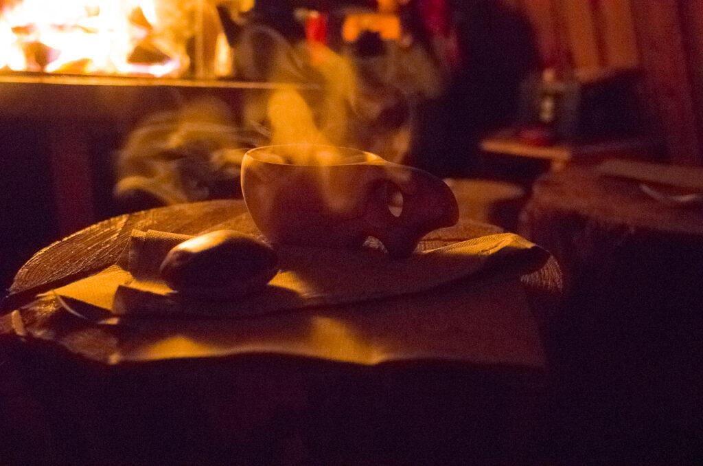 Kochkaffee in der Kota