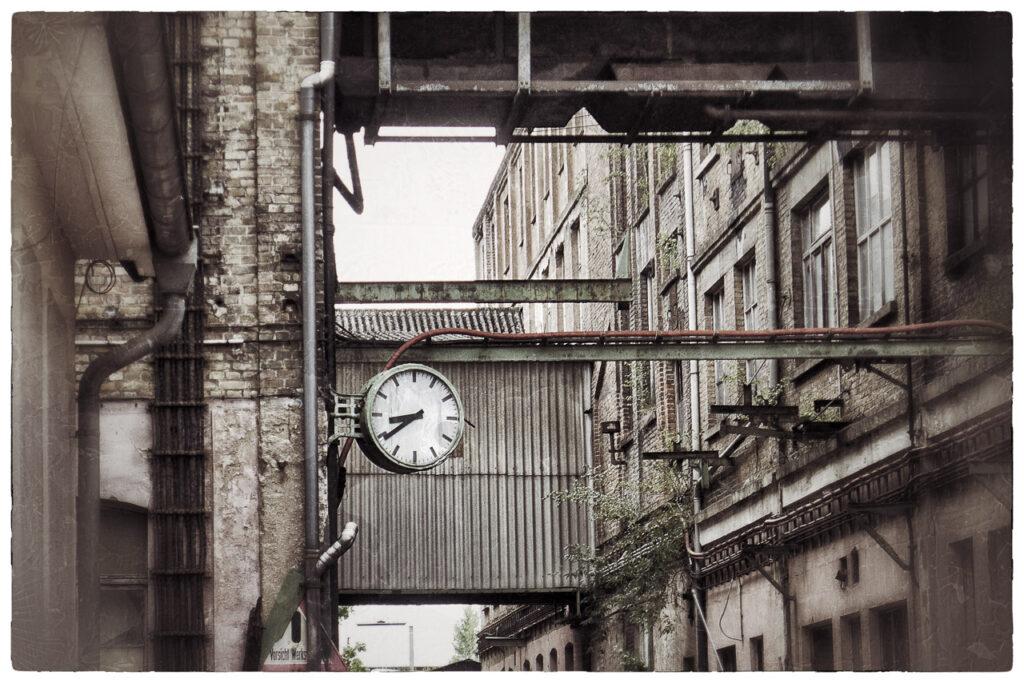 Industrieanlage bevor Klimaschutz interessierte