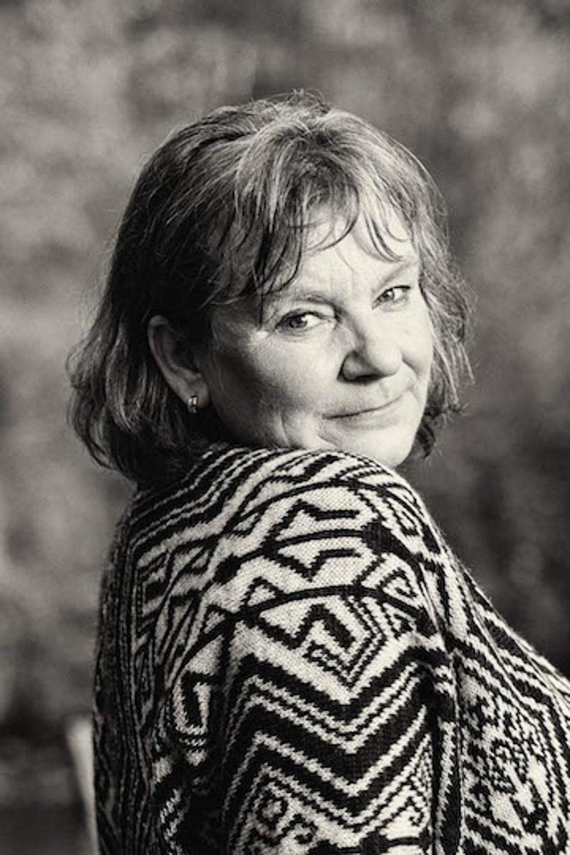60jährige Frau b&w