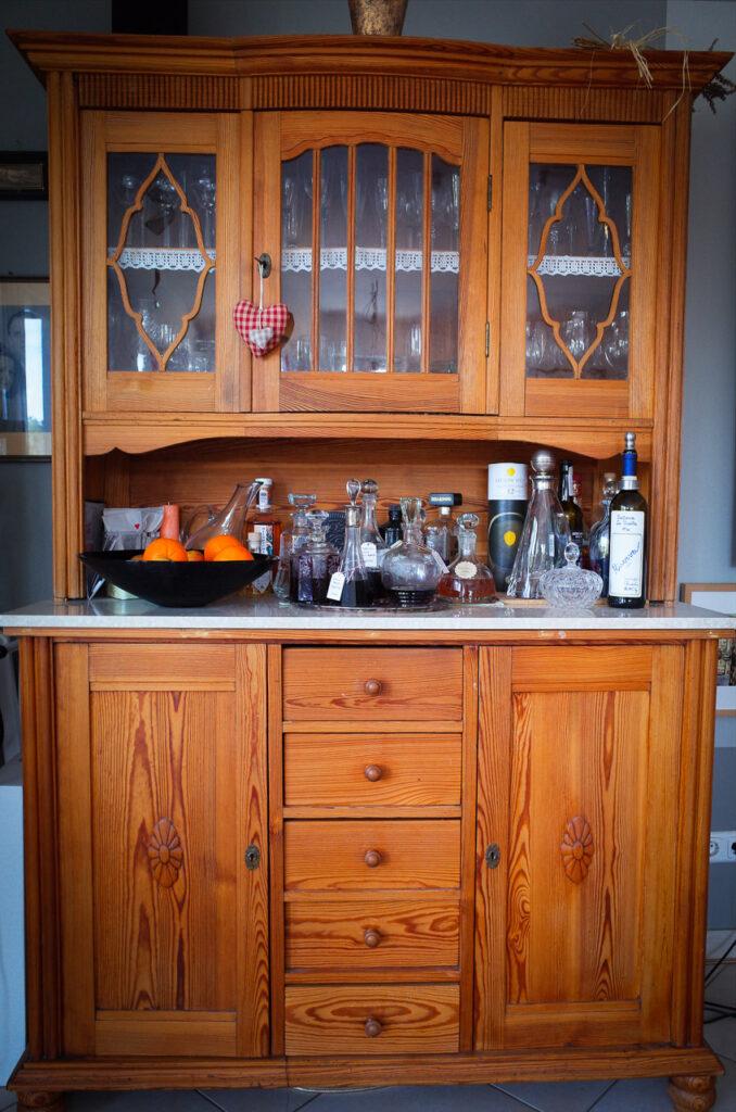 altes Küchenbuffett in neuem Glanz. Nachhaltigkeit pur.