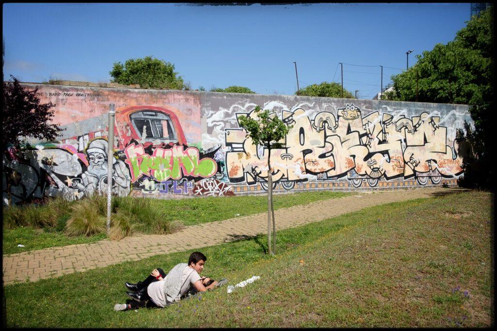 Lissabon, Mauer