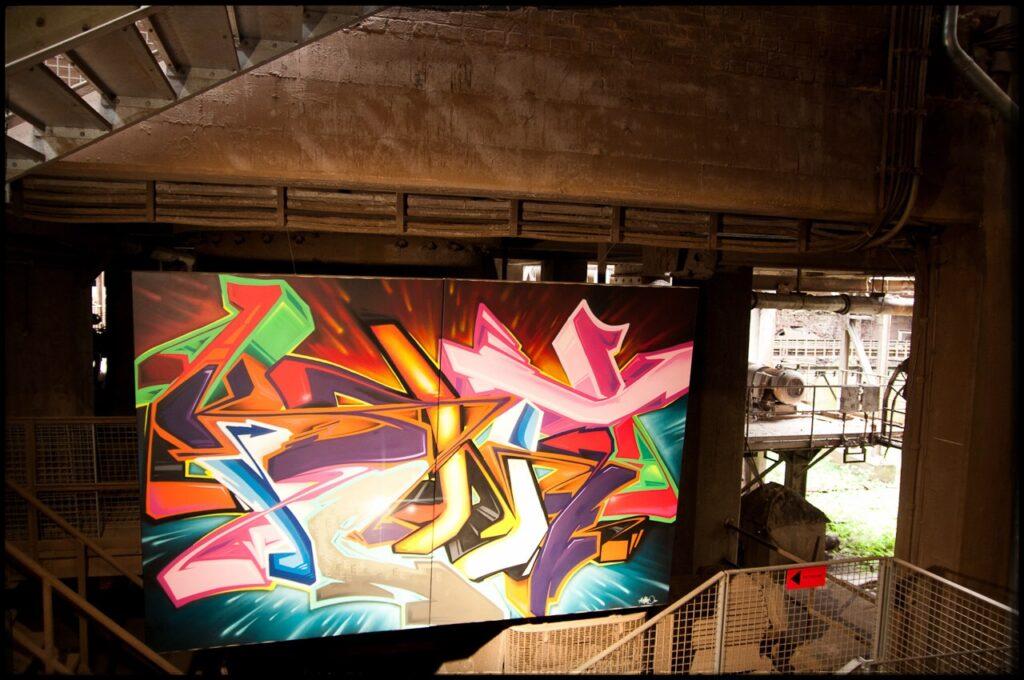 Graffity Urban Art Völklinger Hütte 2011