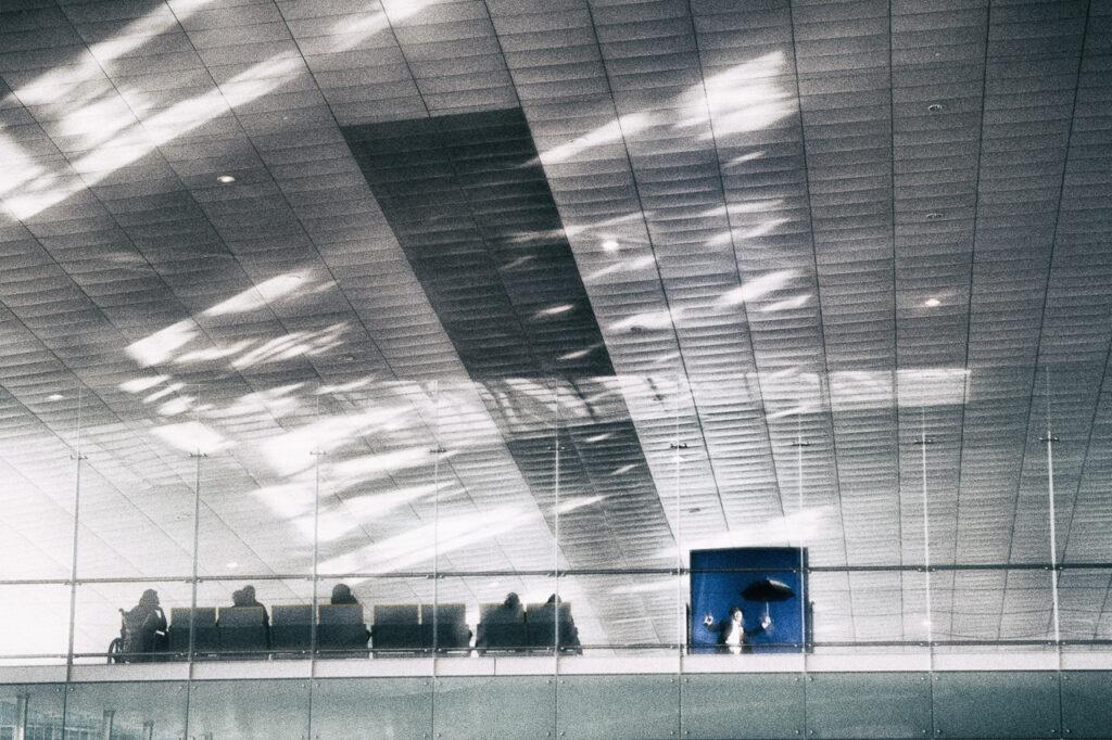 Streetfotografie Airport Serie, Bild 3