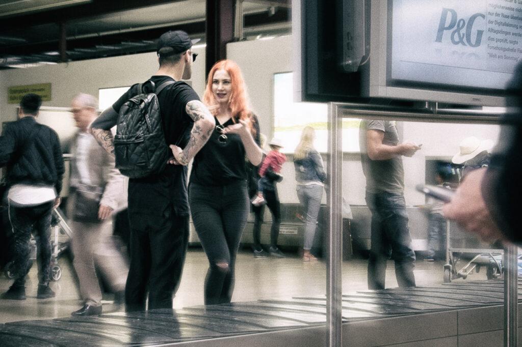 Streetfotografie Airport Serie Bild 2