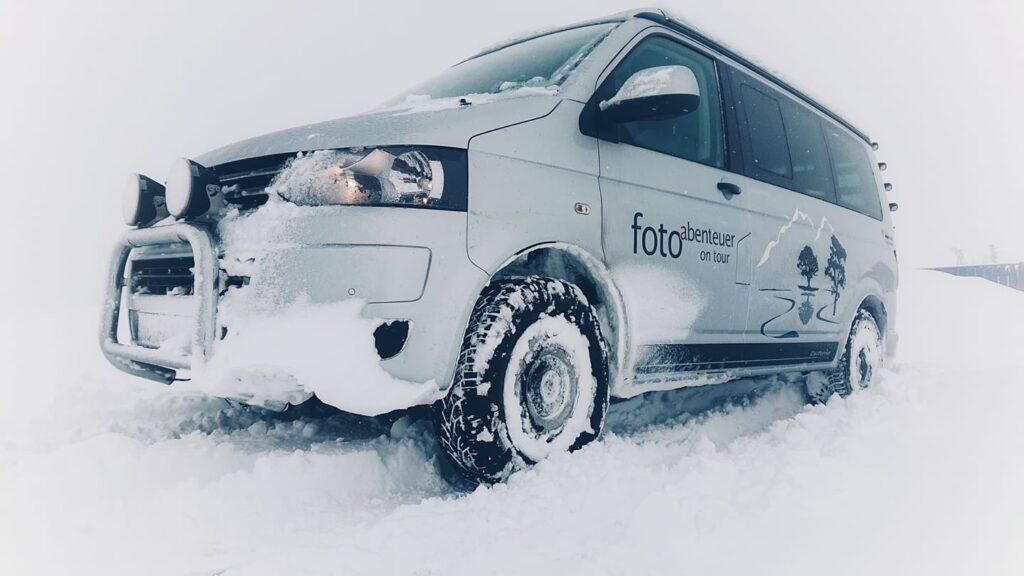 Die absolut wintertaugliche Version des Bulli T5 für den hohen Norden.