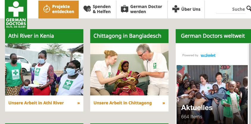 German Doctors e.V. bekommen Spende von nordisch-gruen.de