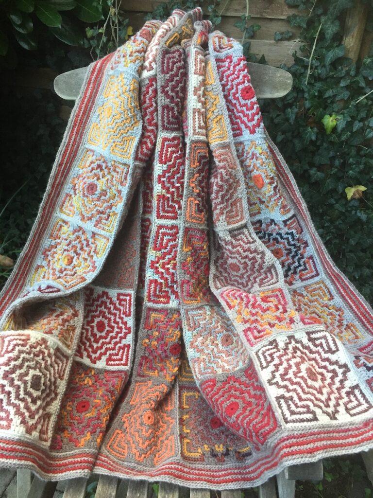 Terrazzo Afghan  design Tinna Thorudottir