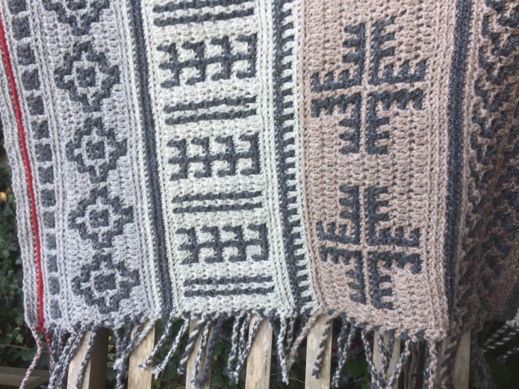 Berber Afghan  design Abi McIntyre